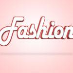 Fashion Word Indicates Design Clothing And Elegance